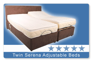 The Serena Adjustable Twin Bed