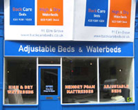Should we move the retail of waterbeds and adjustable beds