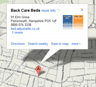 Back Care Beds Location