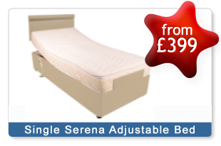 The Serena Adjustable Single Beds