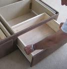 Drawer Options for Waterbeds